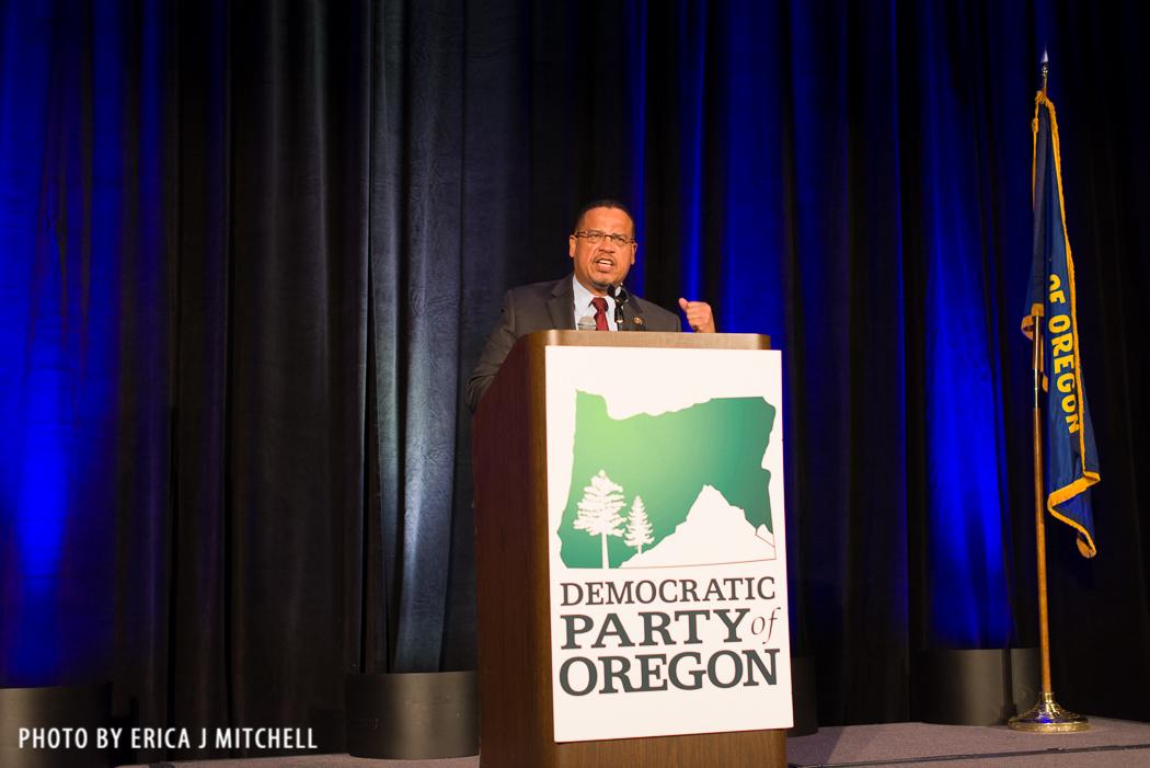 Congressman and DNC Deputy Chair Keith Ellison