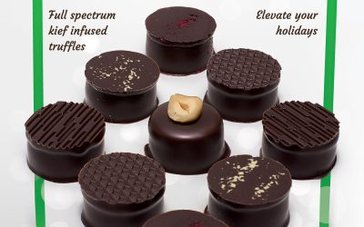 Crop Circle Chocolates Holiday Ad