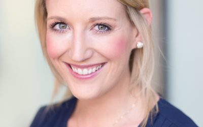 Natural Light Headshot for Christine at The Agency Inc.
