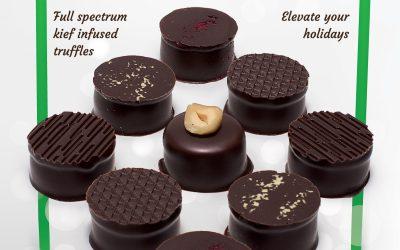 Crop Circle Chocolates Holiday Ad